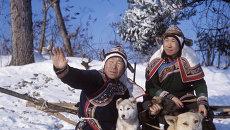Удэгейцы в Уссурийской тайге. Архивное фото.
