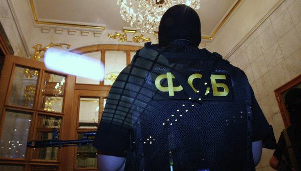 Сотрудники Федеральной службы безопасности РФ. Архивное фото