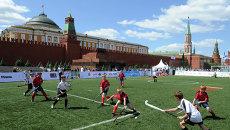 Спортивные соревнования на Красной площади. Архивное фото