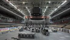 Фетисов Арену во Владивостоке превращают в концертную площадку