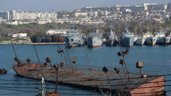 Корабли Черноморского флота ВМС России. Архивное фото