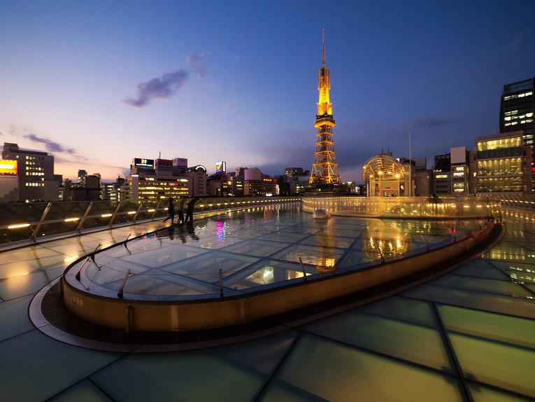 Нагоя ТиВи Тауэр (Nagoya TV Tower) - копия Эйфелевой башни в Японии