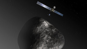 Высадка модуля Фила на ядро кометы Чурюмова-Герасименко