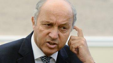 Министр иностранных дел Франции Лоран Фабиус. Архивное фото