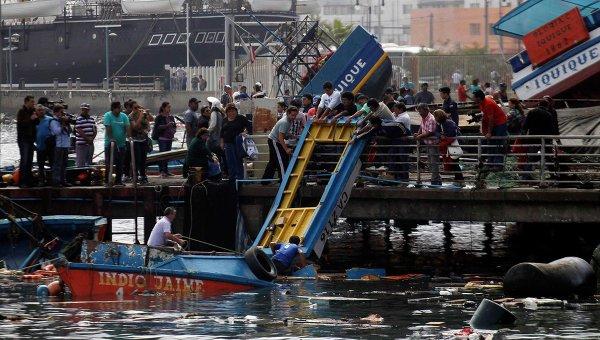 Последствия землетрясения и цунами в Чили