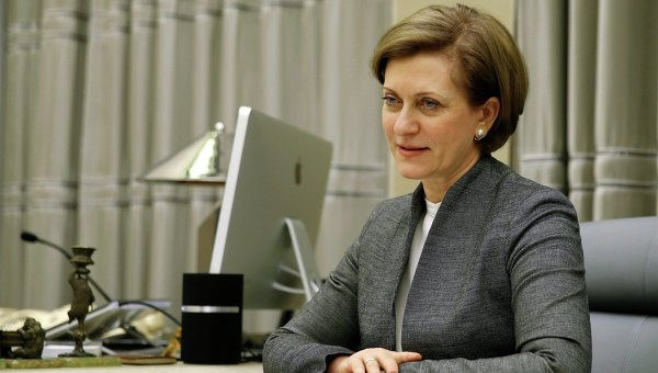 Глава Роспотребнадзора Анна Попова. Архивное фото
