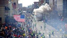 Взрыв во время Бостонского марафона