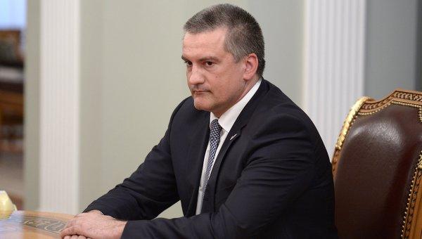 Губернатор Крыма Сергей Аксенов. Архив