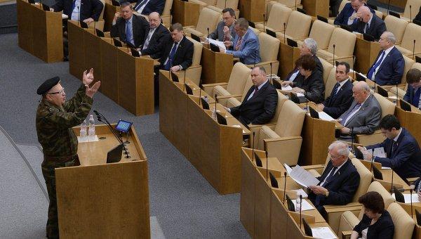 Руководитель фракции ЛДПР в Государственной Думе РФ Владимир Жириновский