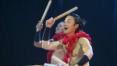 Отбарабанили на славу: японцы показали томичам свое искусство