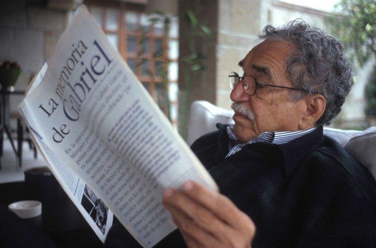 Писатель Габриэль Гарсия Маркес
