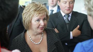 Экс-супруга премьер-министра РФ Людмила Путина. Архивное фото