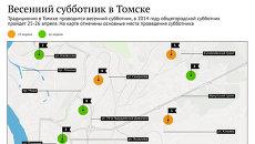 Общегородской субботник в Томске