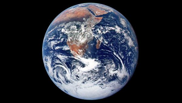 Снимок Земли. Архивное фото