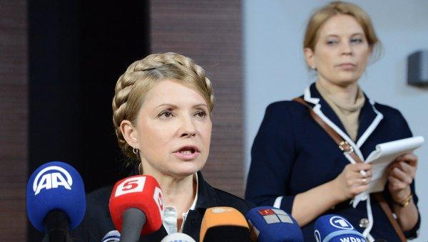 Экс-премьер Украины Юлия Тимошенко. Архивное фото