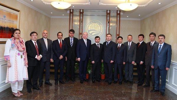 Первая встреча координаторов государств-членов ШОС 26 апреля 2014 года