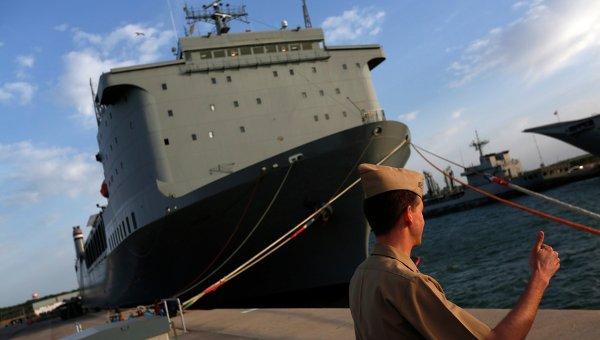 Судно ВМС США Кейп Рей