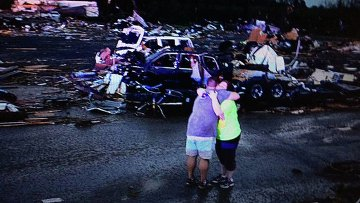 После торнадо в Арканзасе