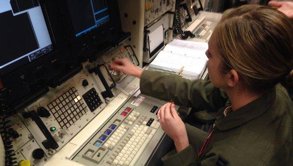 Пункт управления ракетной базы американских ВВС Уоррен в городе Шайен, штат Вайоминг