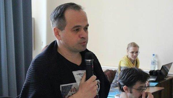Координатор акции Бессмертный полк Сергей Колотовкин