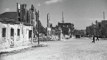 Великая Отечественная война 1941-1945 годов. Руины Севастополя