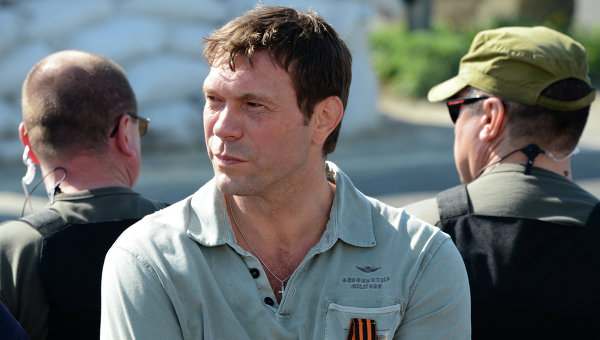 Сопредседатель движения Народный фронт Новороссии Олег Царев. Архивное фото