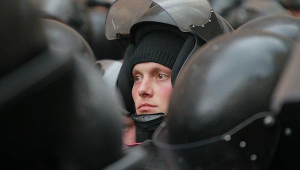 Сотрудники милиции Украины. Архивное фото