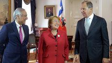 Президент Чили Мишель Бачелет. Архивное фото