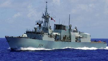 Канадский сторожевой корабль HMCS Regina. Архивное фото