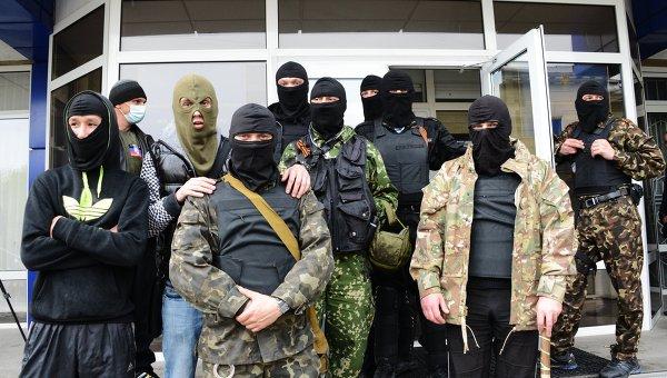 Сторонники Народного ополчения Донбасса. Архивное фото