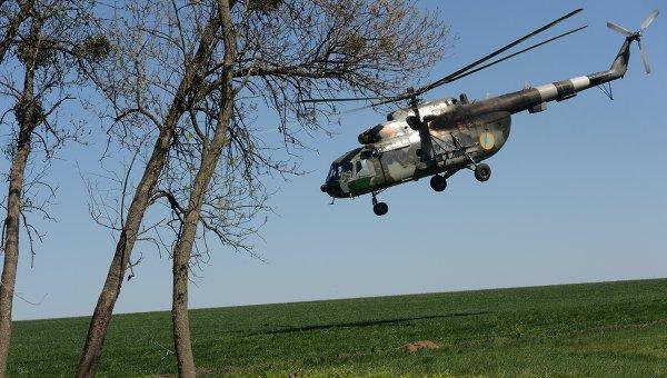 Вертолет Ми-8 вооруженных сил Украины. Архивное фото