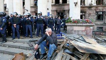 Одесса после беспорядков