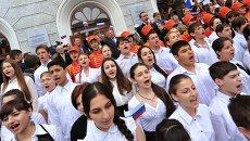 Рекорд массовости исполнения песни День Победы установлен в Ростове-на-Дону