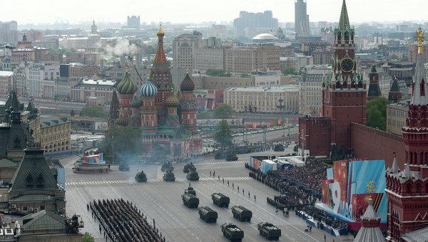 Генеральная репетиция Парада Победы. Архивное фото