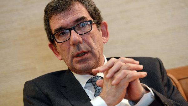 Посол Франции в РФ Жан-Морис Рипер. Архивное фото