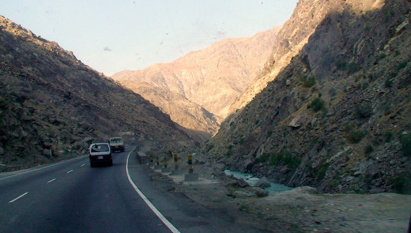 Дорога в Афганистане. Архивное фото