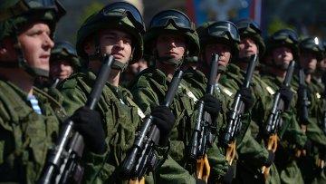 Военный парад, посвященный 69-й годовщине Победы в Великой Отечественной войне. Архивное фото