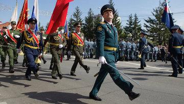 Парад Победы в Томске. Архивное фото