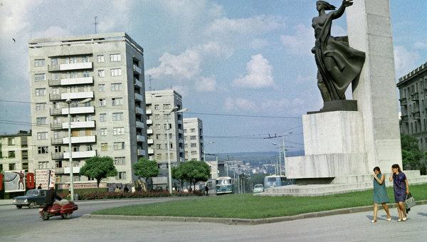 Памятник советским воинам в Молдавии. Архивное фото
