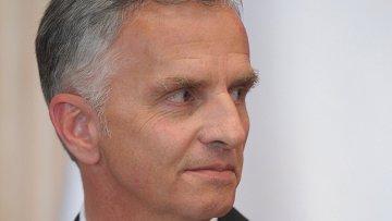 Президент Швейцарии, действующий председатель ОБСЕ Дидье Буркхальтер. Архивное фото