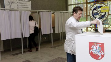 Голосование на президентских выборах в Литве, Вильнюс