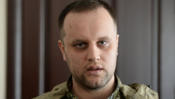Народный губернатор Донецкой области Павел Губарев, архивное фото