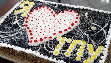 Торт в честь 118-ой годовщины Томского политехнического университета