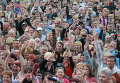 Концерт и митинг, посвященный референдуму о статусе Луганской республики