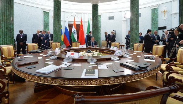 Саммит стран-участниц БРИКС. Архивное фото