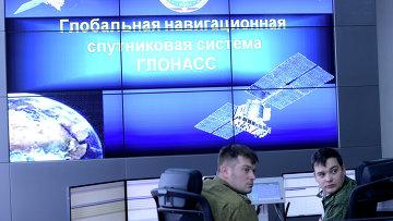 Командный пункт управления глобальной навигационной спутниковой системой (ГЛОНАСС). Архивное фото