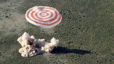 Экипаж 38/39-й длительной экспедиции на МКС вернулся на Землю