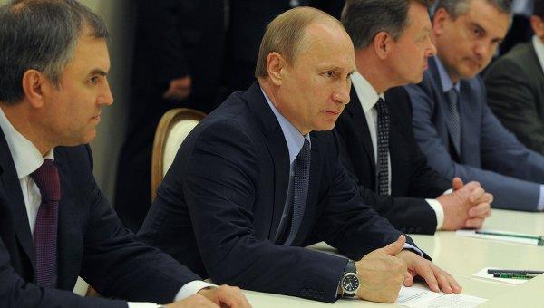 Владимир Путин встретился с представителями крымских татар, 16 мая 2014