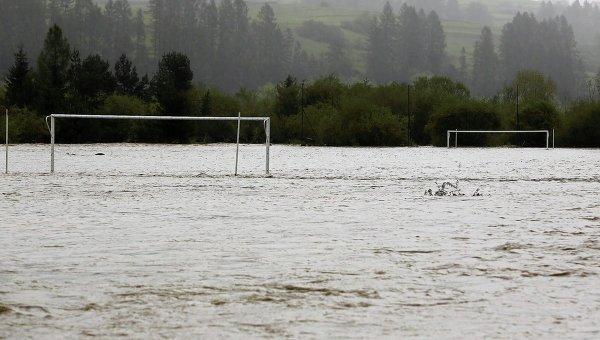 Наводнение на юге Польши