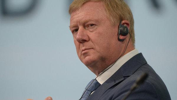 Анатолий Чубайс. Архивное фото